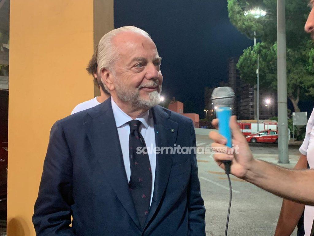 """All'Arechi c'è Aurelio De Laurentiis: """"Solo perché gioca la squadra di mio figlio"""" WhatsApp-Image-2019-08-01-at-20.56.51-1024x768"""