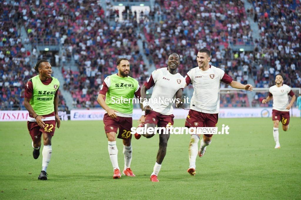 coulibaly esultanza gol bologna