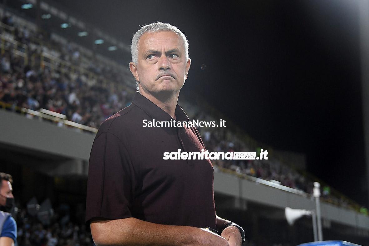 salernitana roma mourinho