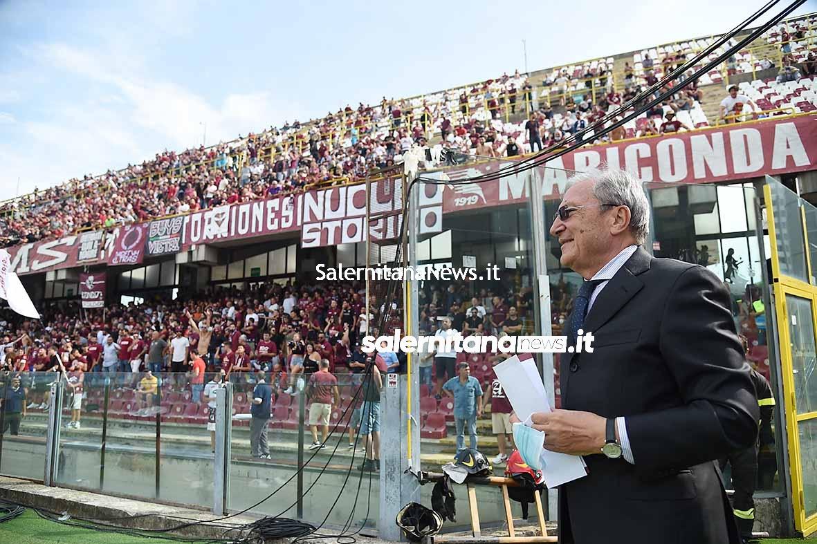 Salernitana Genoa marchetti curva